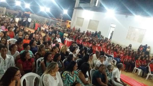 Dom Marcos celebrou Crisma de 91 jovens e adultos em Alvorada