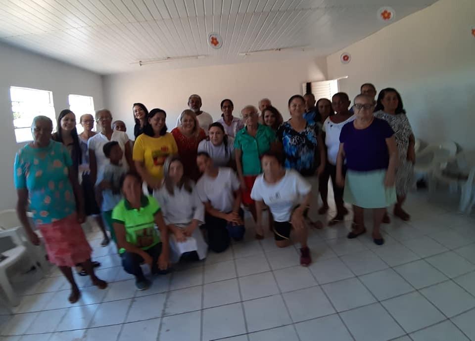 Prefeitura de Gilbués realiza encontro com idosos do grupo 'Flor da Idade'