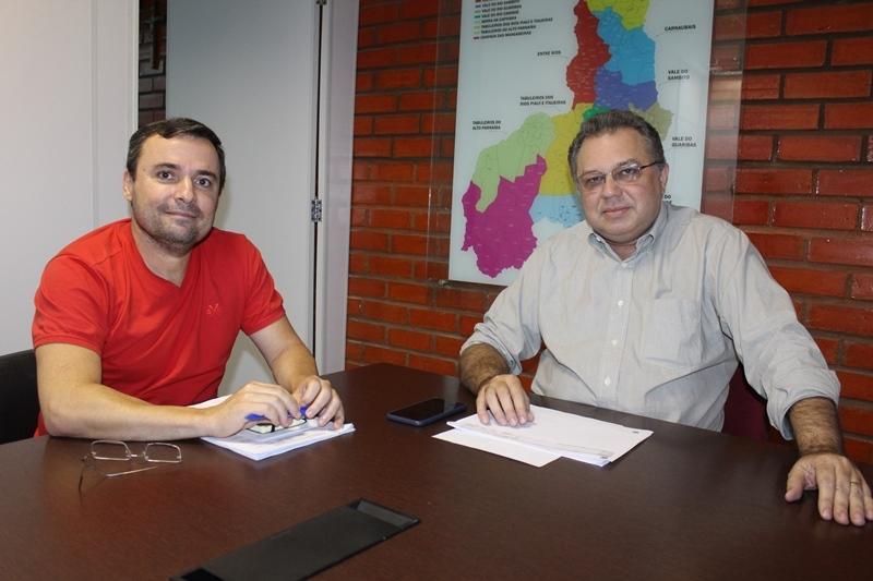 Fábio Novo e Florentino Neto.