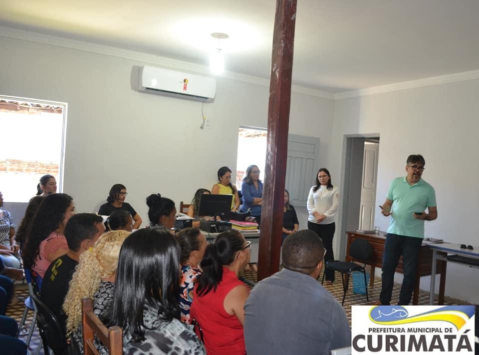 Equipe da Educação de Curimatá promove importante reunião