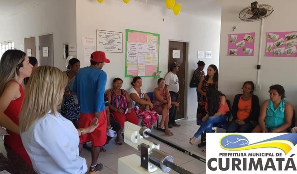 Campanha contra hepatites virais em Curimatá-PI