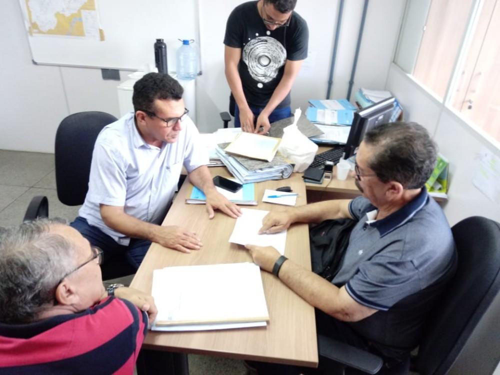 Raimundo Santos cumpre agenda em Teresina