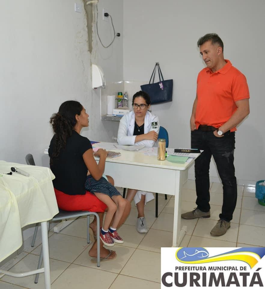 Saúde de Curimatá passa oferecer atendimento pediátrico