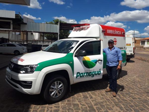 Prefeito Alemão consegue ambulância nova