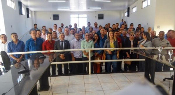 Vereadores de Gilbués participam da criação da Avespi