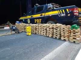 PRF faz apreensão de drogas na BR 230 em Floriano