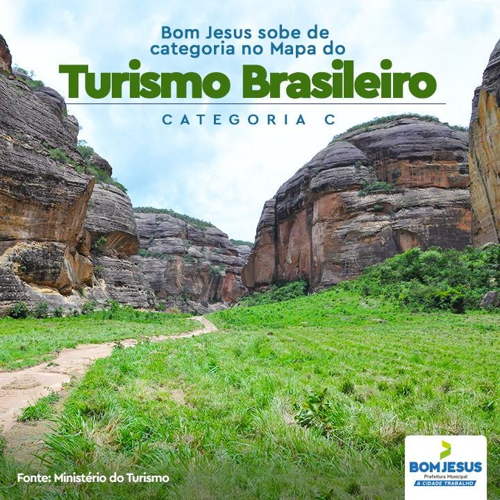 Bom Jesus sobe de categoria no Mapa do Turismo Brasileiro