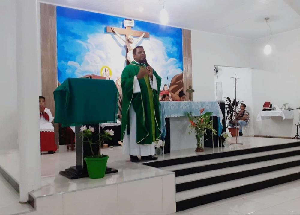 Convite para o Festejo de N. Sr.ª Aparecida em Alvorada do Gurgueia