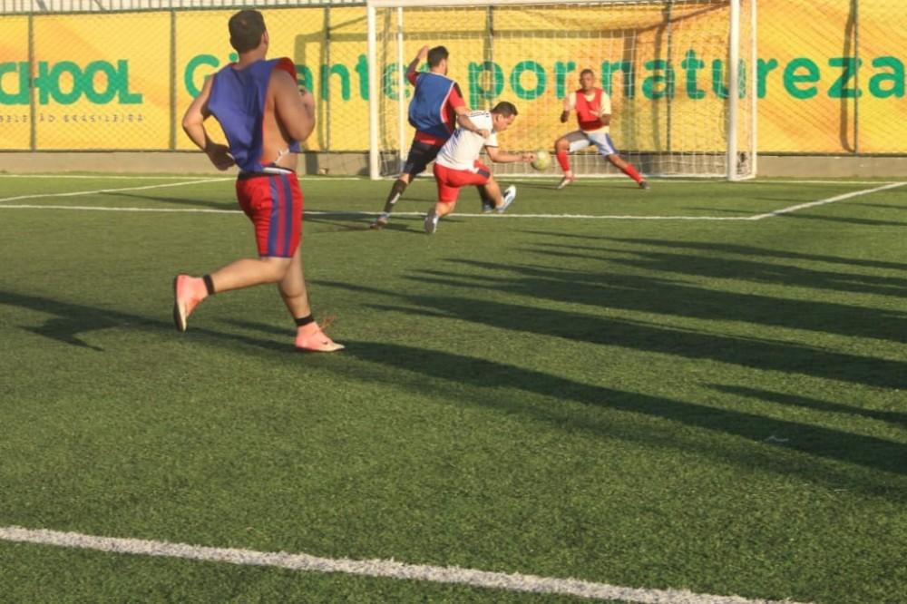 Henrique Guerra participa de jogo beneficente no DF