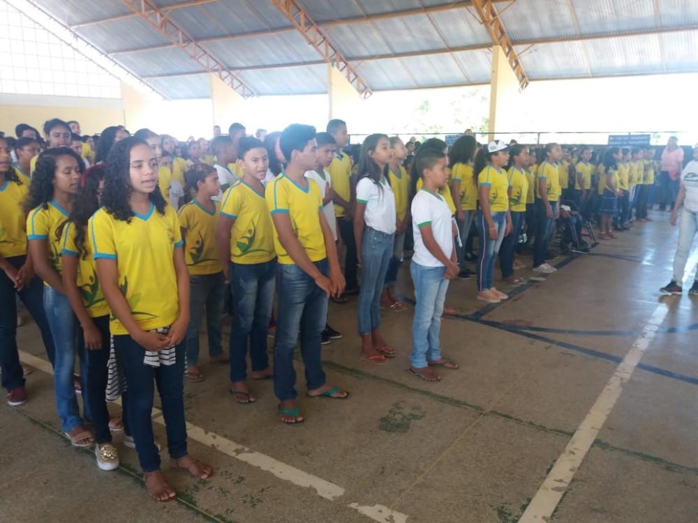 Escola de Alvorada do Gurgueia realiza evento alusivo ao 7 de Setembro
