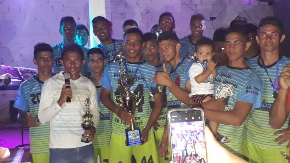 G15 da Palestina é Campeão da primeira edição da Copa Interior