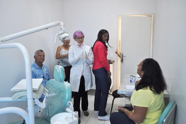 Avelino Lopes cumpre mais uma etapa do programa Prótese Dentária