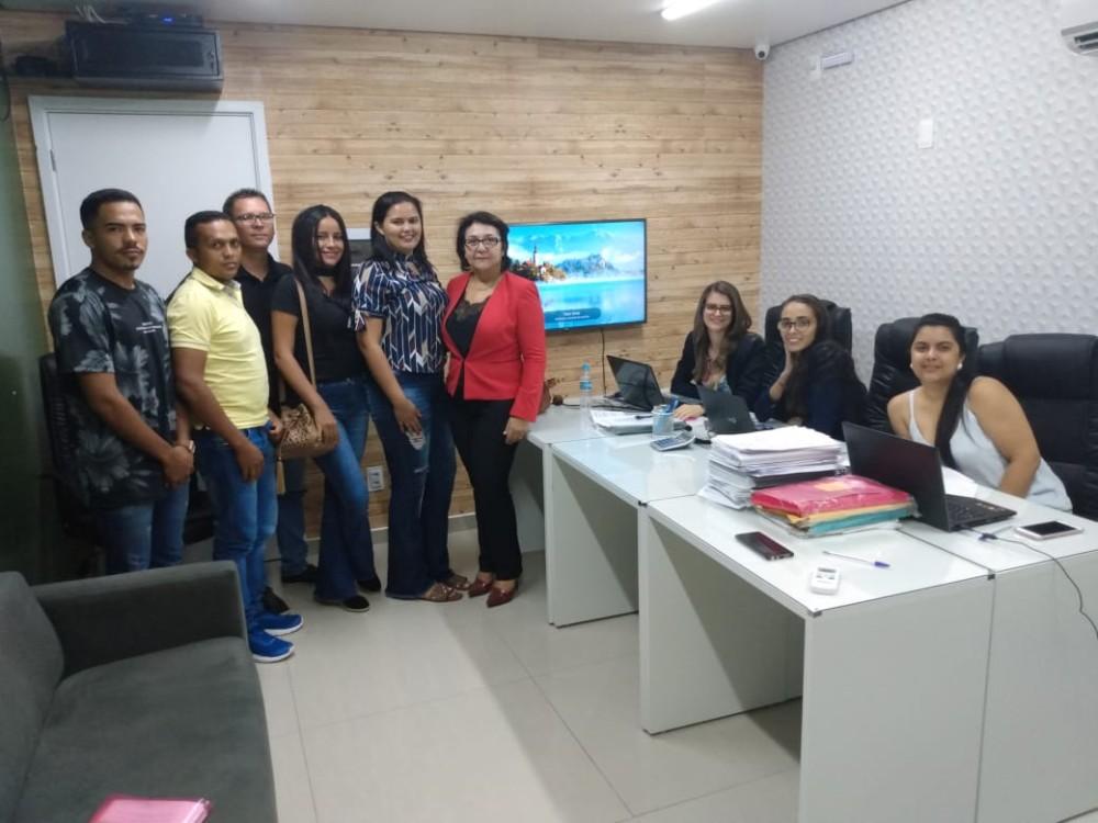Equipe da prefeitura de Currais fazem treinamento em Teresina