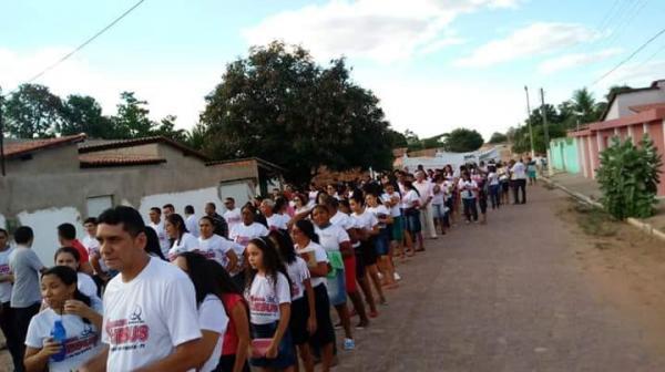 Evangélicos celebram o seu Dia Municipal em Alvorada do Gurgueia