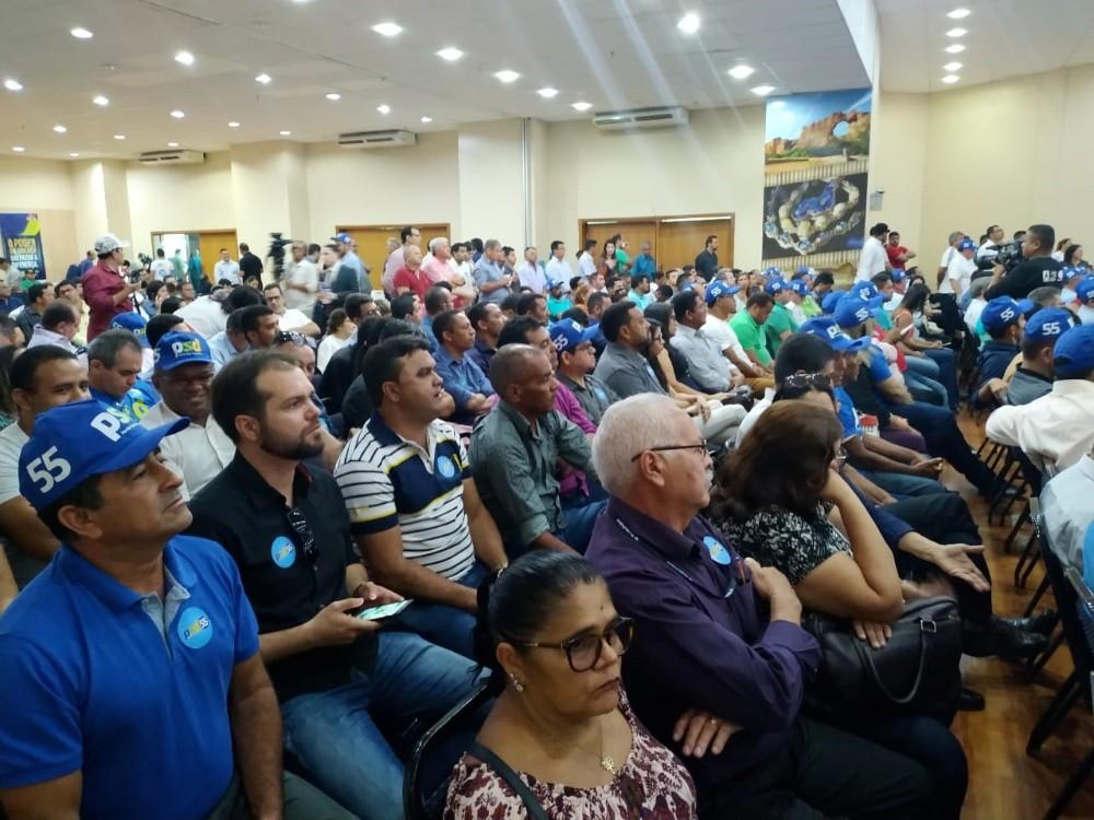Prefeito Antônio Sobrinho participa do 2° encontro regional do PSD