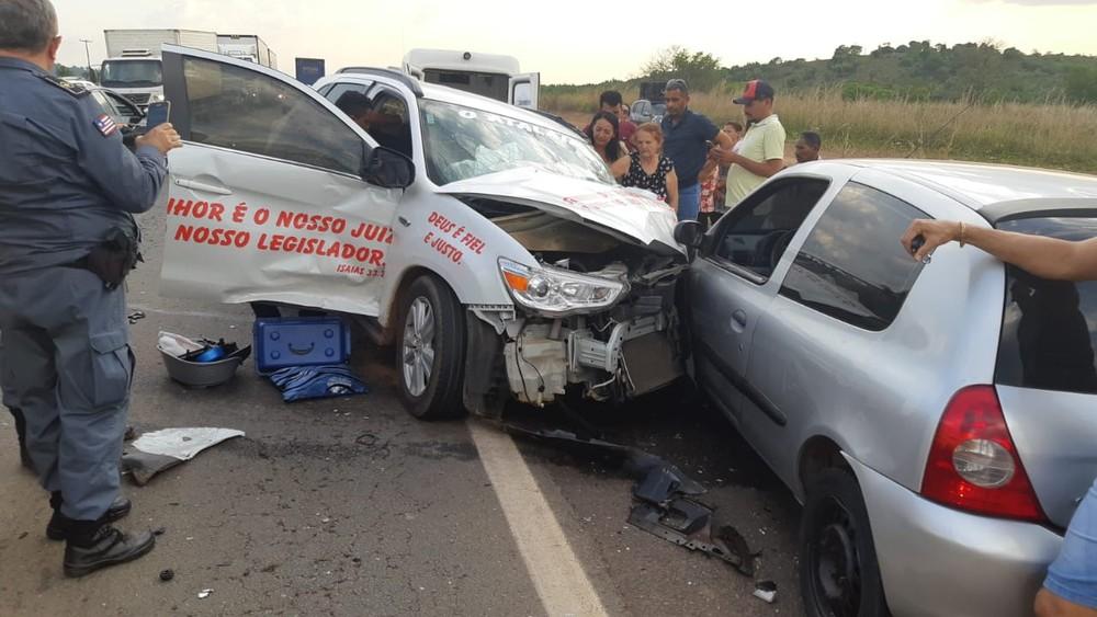 Grave acidente deixa vítima fatal na BR-135 no Maranhão