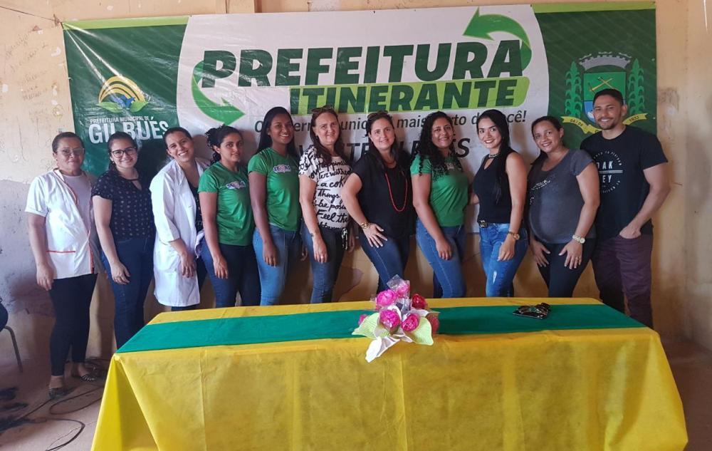 'Prefeitura Itinerante' atendeu na comunidade Aroeira