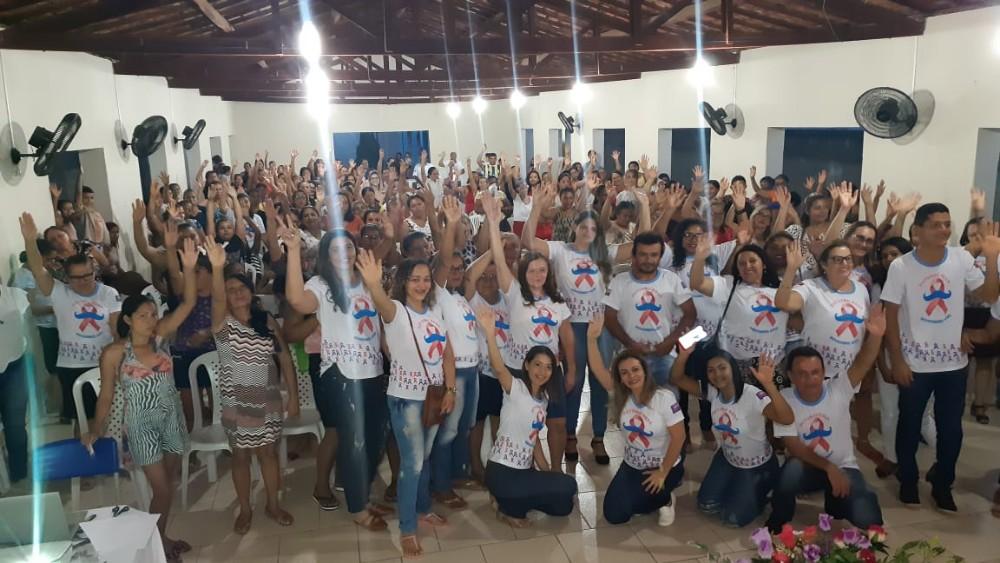 'Outubro Rosa': Saúde realiza palestras em Santa Luz