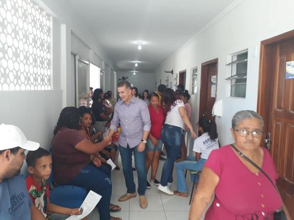 Prefeitura de Curimatá realiza semana da saúde visual