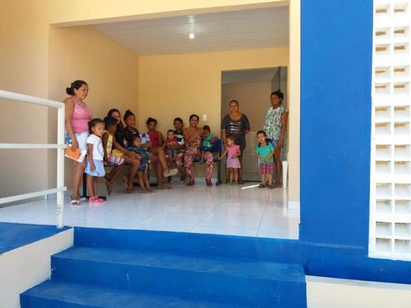 Novo posto de Saúde começa a funcionar em Palmeira do Piauí