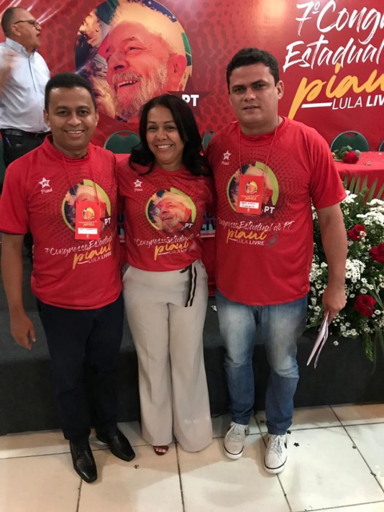 Prefeita Doquinha participa do 7° Congresso do PT em Teresina