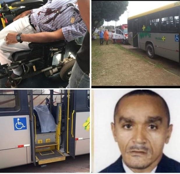 Cadeirante Bonjesuense morre baleado durante assalto em ônibus no DF