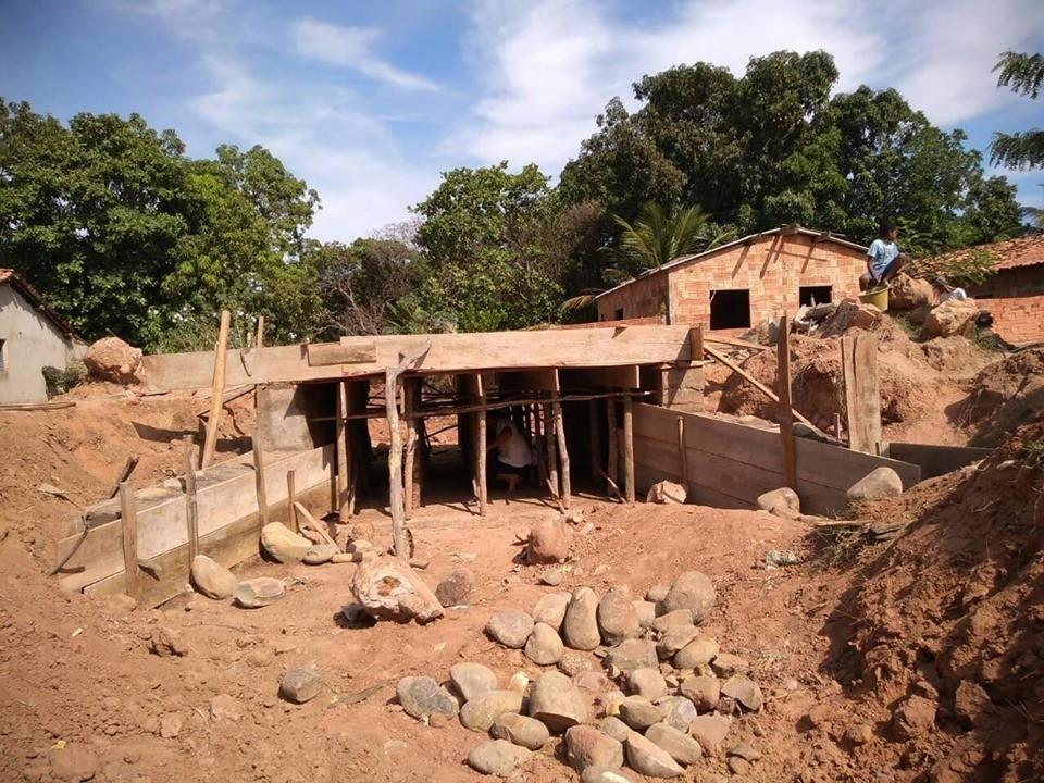 Dr. Macaxeira está construindo ponte na zona urbana de Redenção