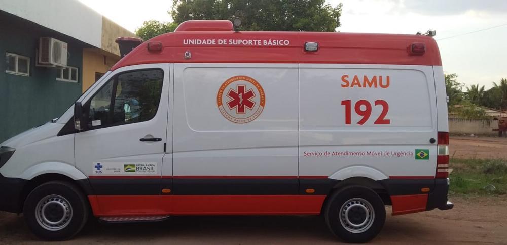 SAMU de Currais recebe nova ambulância; Prefeitura investe R$ 50 mil