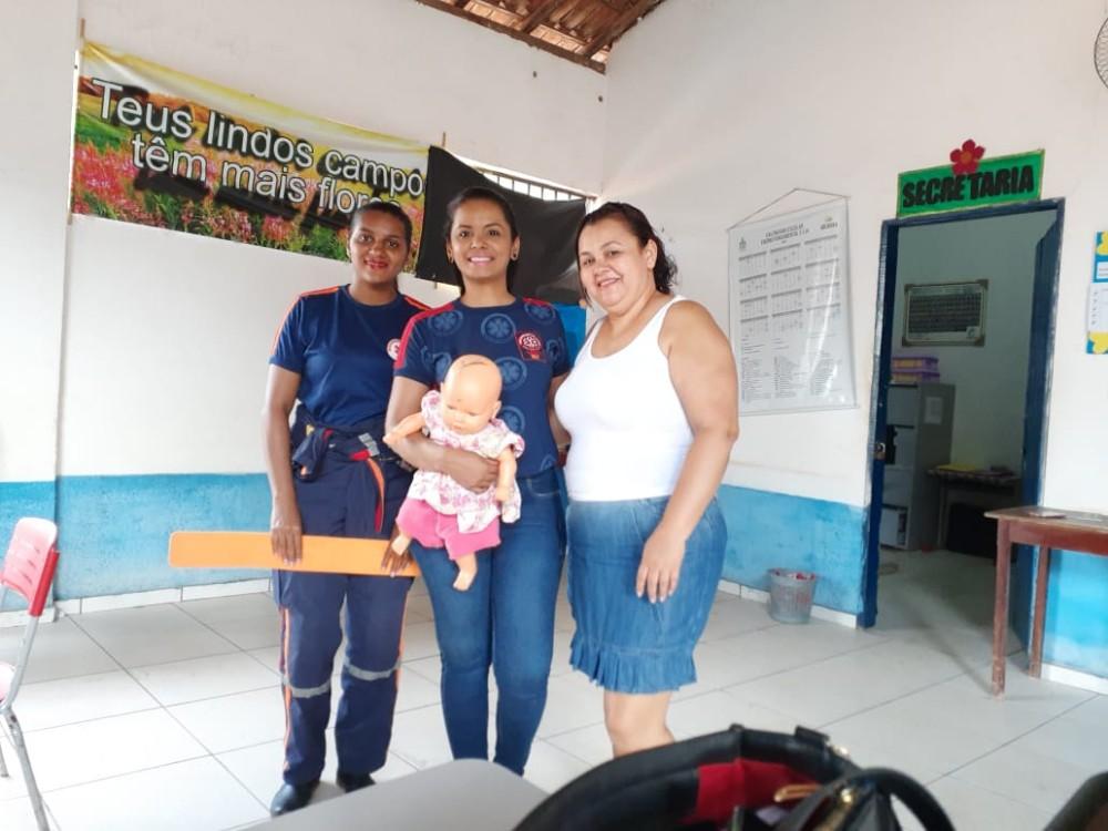Projeto 'Samu nas escolas' orienta alunos e professores em Gilbués