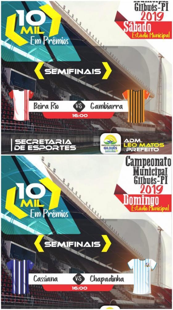Semifinais do Campeonato Municipal de Gilbués acontecerá nesse fim de semana
