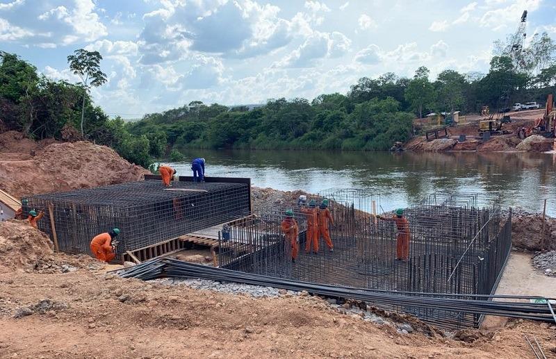 Obras da ponte em Santa Filomena (PI) começam virar realidade