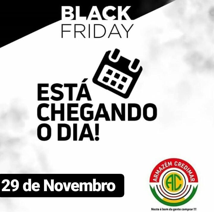 Black Friday do Armazém Credimar É PRORROGADA