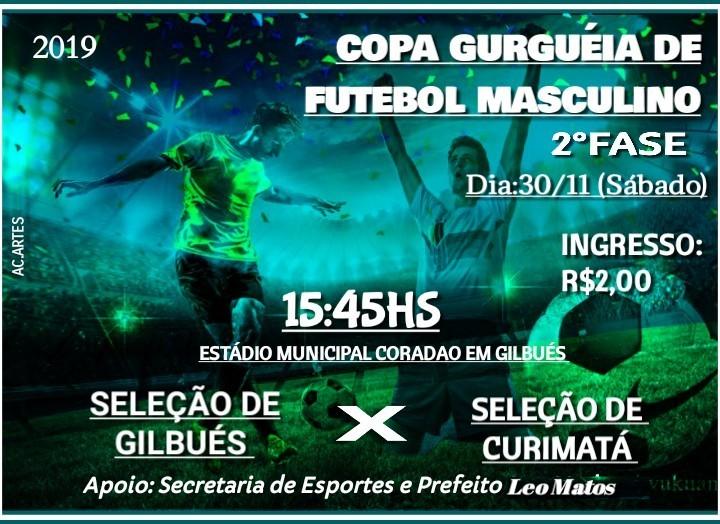 Copa Gurguéia de Futebol Masculino nesse final de semana em Gilbués