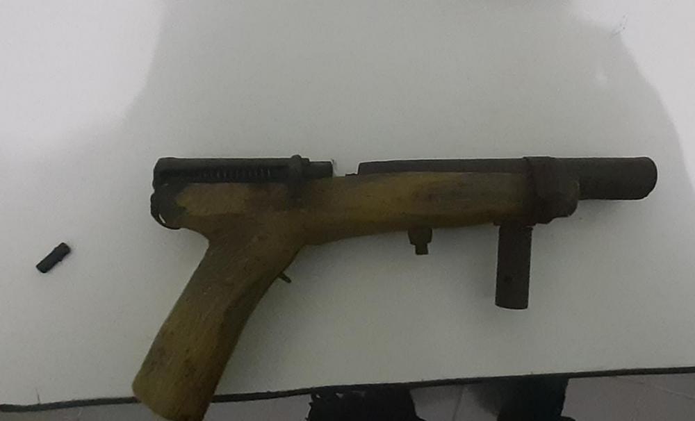 Arma apreendida