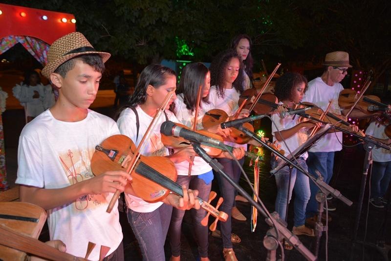 Evento terá apresentação de mestres rabequeiros e da Orquestra de Rabecas de Bom Jesus