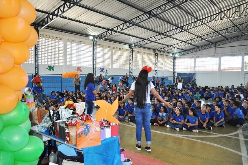Educação de Avelino Lopes faz o encerramento do ano letivo 2019