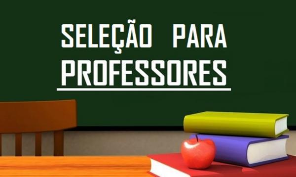 Prefeitura de Bom Jesus ABRE VAGAS para professor temporário