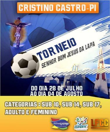 Torneio será realizado durante os festejos de Cristino Castro