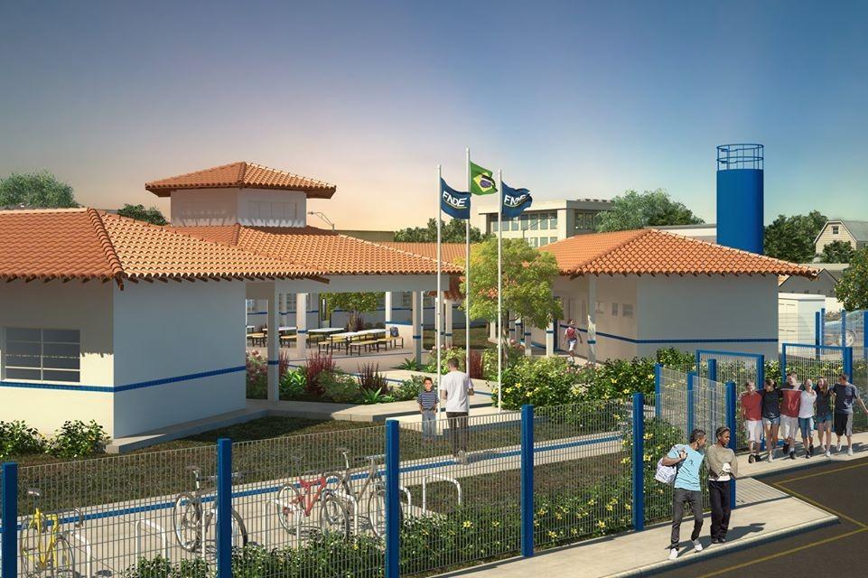Avelino Lopes: Prefeito Dióstenes anuncia construção de duas escolas