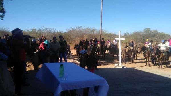 Missa dos vaqueiros é celebrada em Barra de Santana