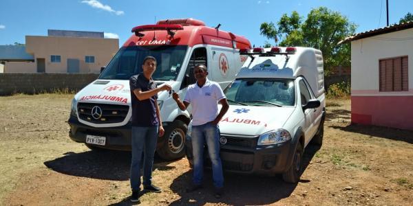 Município de Júlio Borges ganhou uma nova ambulância
