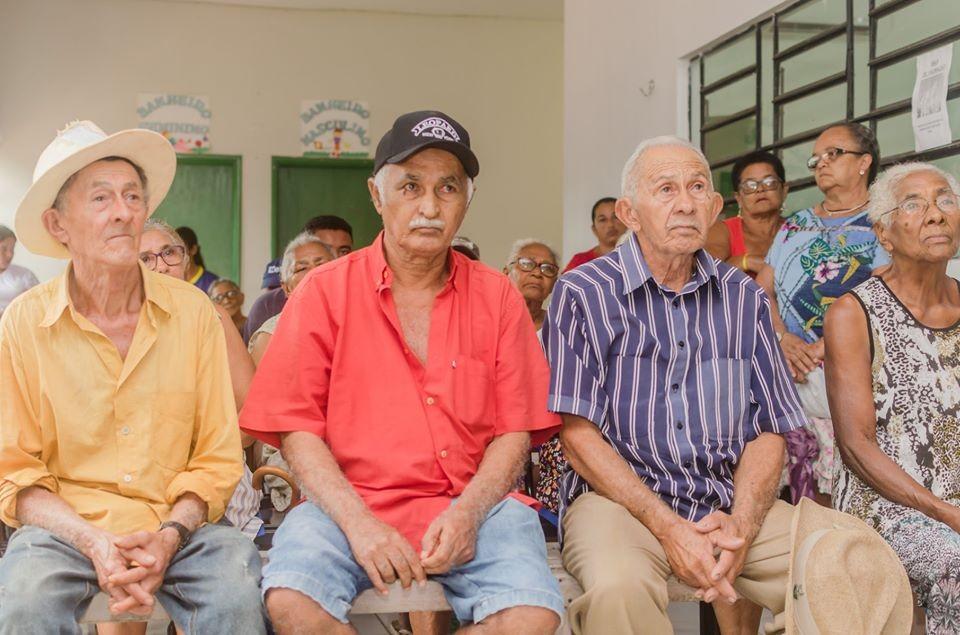 Primeiro encontro do Grupo de Hiperdia em Santa Filomena
