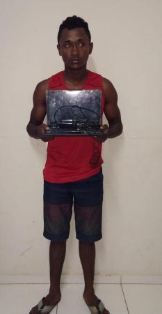 Meliante é preso por arrombamento e furto na cidade de Gilbués