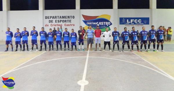 Cristino Castro sediou a I Copa do Vale do Gurguéia de Futsal.