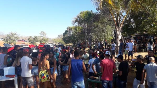 Santana Fest reuniu uma multidão às margens do Rio Uruçuí Vermelho em Barreiras do Piauí