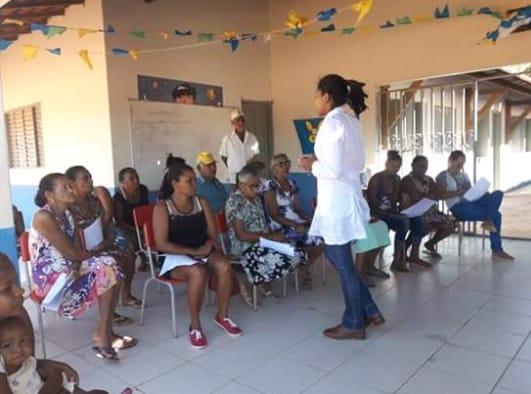 Idosos do Povoado Vaqueta ganham palestra da Saúde