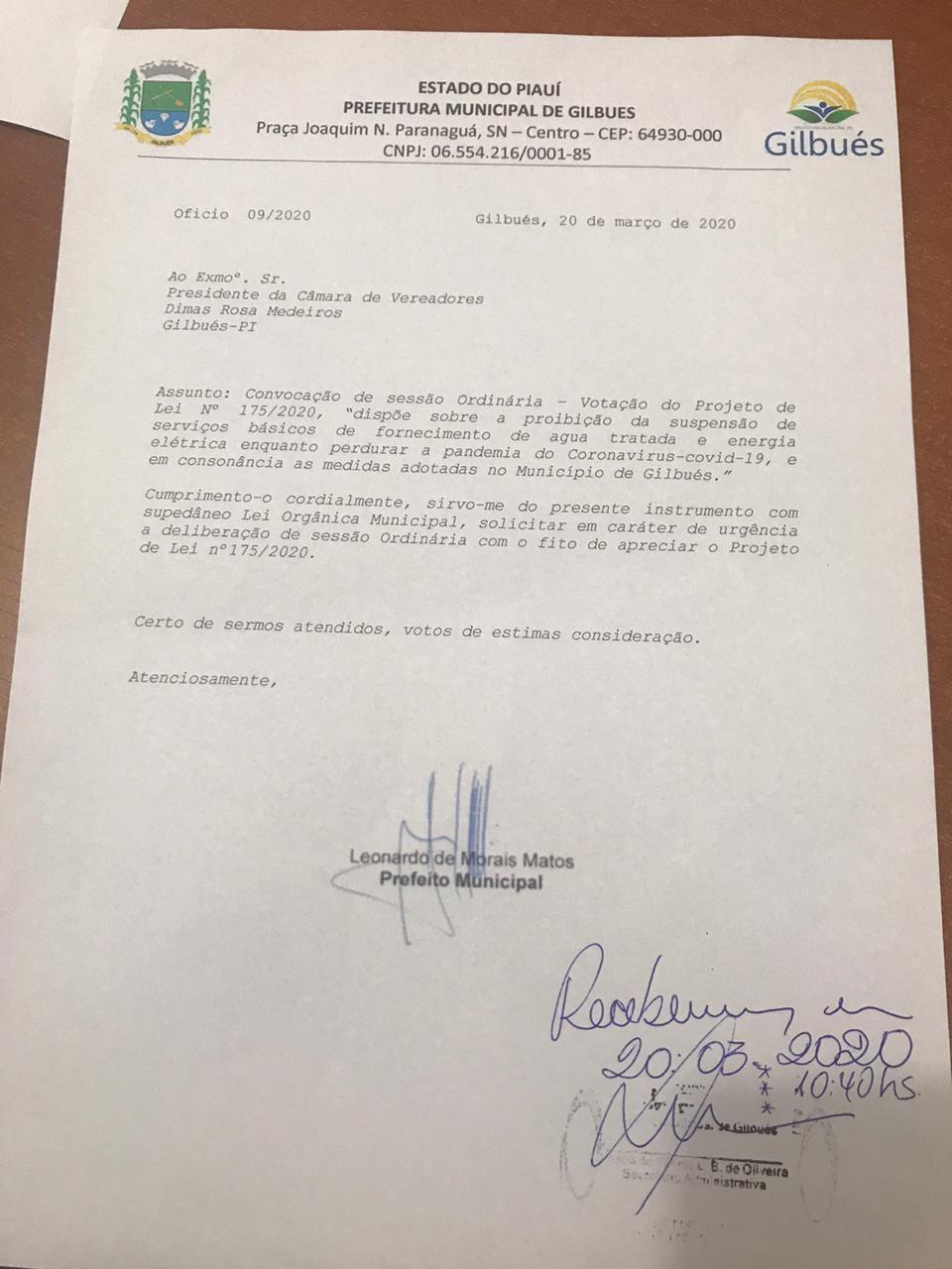 Léo Matos determina religações de água e energia após PL aprovado