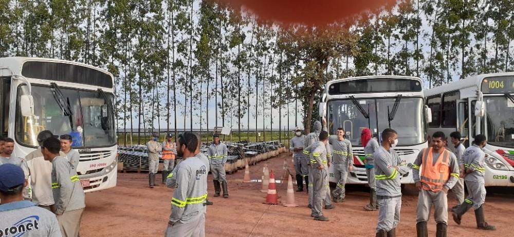 Trabalhadores estão correndo riscos em São Gonçalo do Gurgueia