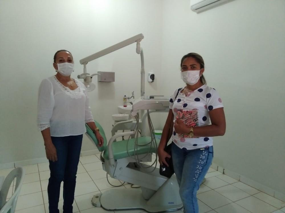 Iara Aguiar visita Secretaria Municipal de Saúde em Gilbués