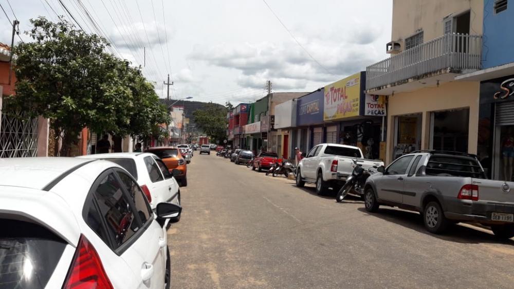 Centro Comercial de Bom Jesus-PI.